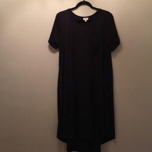 LuLaRoe Black Carly size XL